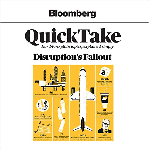 Bloomberg QuickTake: Disruption's Fallout audiobook cover art