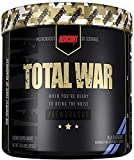Redcon1 Total War - Pre Workout, 30 Servings, Boost Energy, Increase Endurance and Focus, Beta-Alanine, Caffeine (Blue Raspberry)