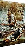 Magic Canvas Art - Bilder Fußball Juve Dybala Leinwandbild