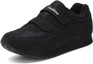 DADIJIER Zapatos atléticos de Color sólido súper liviano, de tacón Plano, para Mujer y Hombre Anti Desgaste