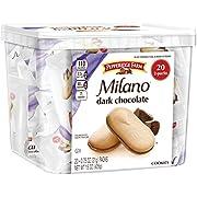 Pepperidge Farm, Milano, Cookies, Dark Chocolate, 15 oz, Multi-pack, Tub, 2-packs, 20-count