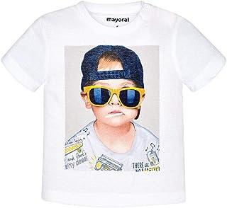 Kiwi Baby Jungen T-Shirt Kurzarm Hunde-Stickerei Mayoral