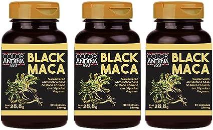 maca peruana negra e vermelha