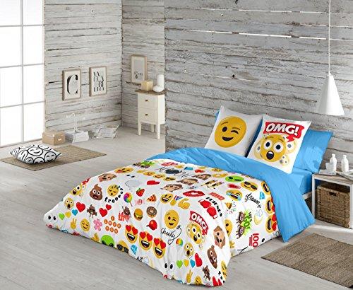Emoji Funda nórdica Party para Cama de 105 cm