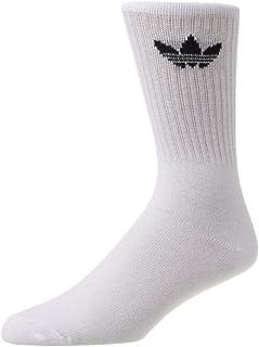 adidas Originals, adidas Solid Crew - calcetines deportivos bianco Talla única