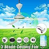 MIOHONG Umweltfreundliche 12V 6W Sonnendeckenventilator Solar-Lüfter Kleine Klimageräte Elektrisch Geeignet for Schlafzimmer Wohnzimmer Büro