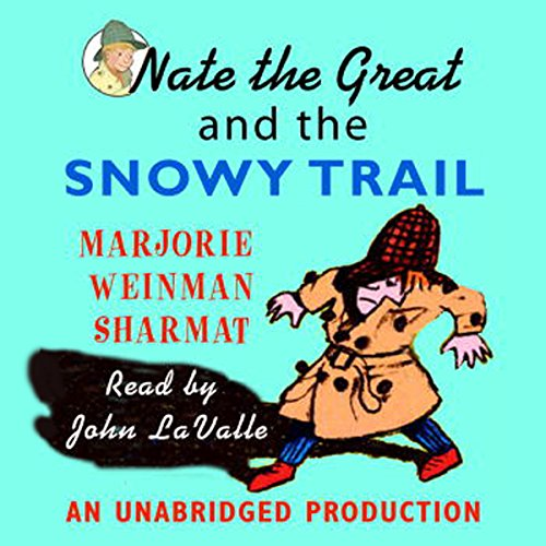 『Nate the Great and the Snowy Trail』のカバーアート