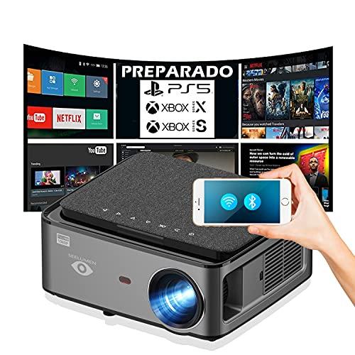 Proyector 4K, Android 9.0, 8.200 Lúmenes, Contraste 15.000:1 ,Fullhd Nativo, Cine en...