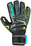 Reusch Attrakt R3 Finger Support Goalkeeper Glove - Size 8, Black/Yellow