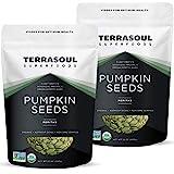 Terrasoul Superfoods Organic Pumpkin Seeds, 4 Lbs - Premium Quality   Fresh   Raw   Unsalted