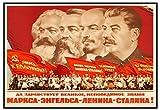 ZYHSB Kommunismus Propaganda Poster, Marx, Friedrich
