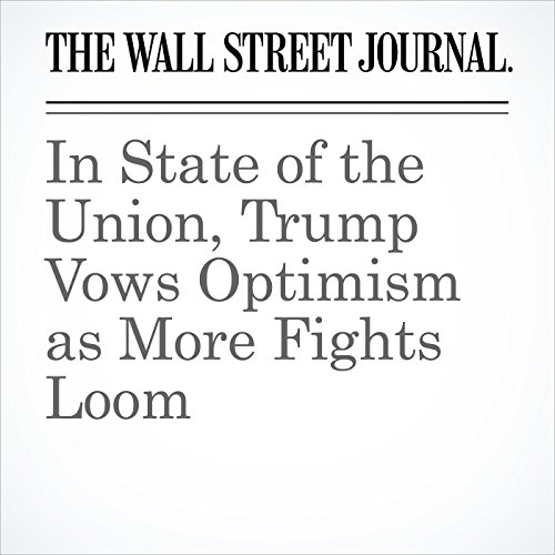 In State of the Union, Trump Vows Optimism as More Fights Loom copertina