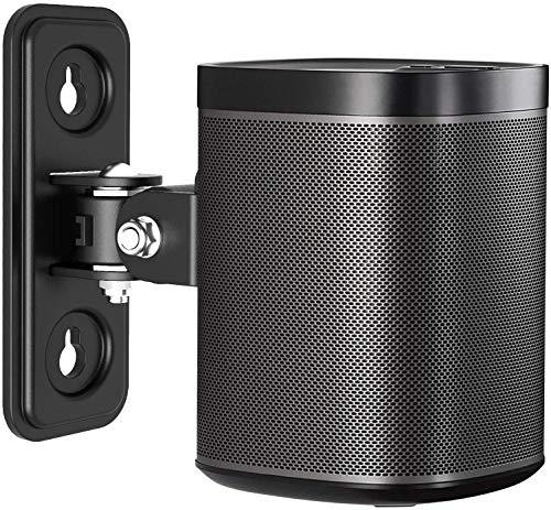 Speaker Staffa per Montaggio a Parete, Supporto per Altoparlante Girevole Inclinabile Solo per SONOS Play 1, Supporta Fino a 10 kg