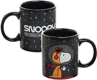 Peanuts - Snoopy - NASA - 12 oz. Heat Reactive Ceramic Mug