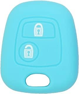 Fassport CV3351 Coque de cl/é avec t/él/écommande pliable 3/boutons en silicone pour Citro/ën.