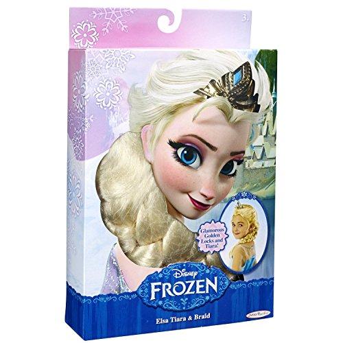 La Reine Des Neiges - Tiare et tresse d'Elsa