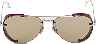 Dior Men's DIORCHROMA1010O7 Silver Metal Sunglasses