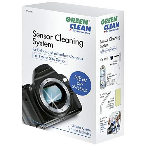 """Green Clean Kit professionale per sensori formato pieno """"Dry Sweeper"""""""