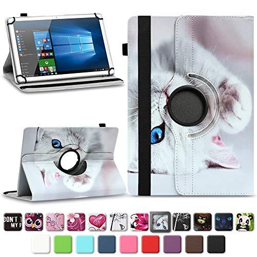 Tasche für Vodafone Tab Prime 7 Tablet Hülle Schutzhülle Hülle 360° Drehbar Cover, Farben:Motiv 10