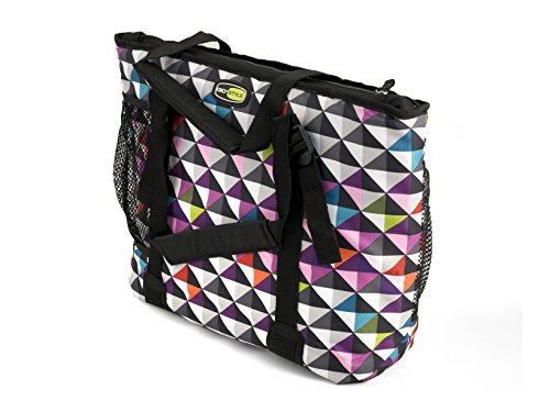 Gio Style Boxy 18 Kühltasche in bunt/ karo-pixel