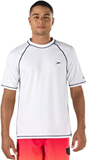 Speedo Men's UPF 50+ Easy Short Sleeve Rashguard Swim Tee