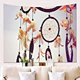 Dream Catcher Wind Chimes Tapiz Decorativo Patrón De Simulación 3D Decoración De Pared Manta Tapiz Duradero Toalla De Playa Que Se Puede Lavar
