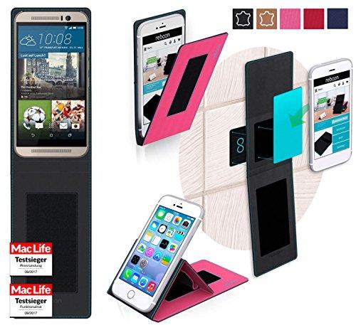 Hülle für HTC One M9s Tasche Cover Hülle Bumper   Pink   Testsieger