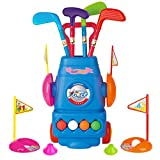 Meland Kids Golf Club Set - Toddler Golf Ball Game Play Set Sports Toys Gift for Boys Girls 2 3 4 5...