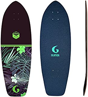 Glutier Surfskate Deck Surf Skate Nayarit Green 31...