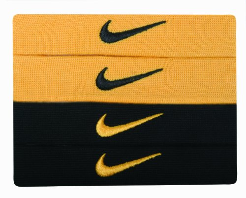 NIKE Home y Away Dri-fit Bandas, Hombre, 9.307.001.701, Varsity Maize/Black, OSFM