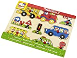 Bino Europe- Puzzle, transporte (88060) , color/modelo surtido