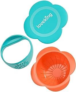 STOBOK Baby Food Masher and Bowl Toddler Food Mills with Mash Bowl Hand Masher Citrus Juicer Grater for Fruits Vegetables ...