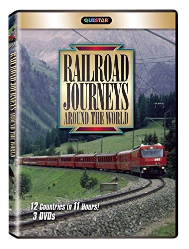 Railroad Journeys Around the World 3 pk.
