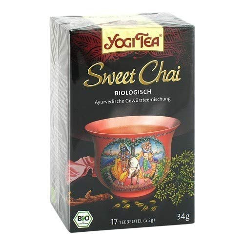 YOGI TEA Sweet Chai Bio Filterbeutel 17X2 g