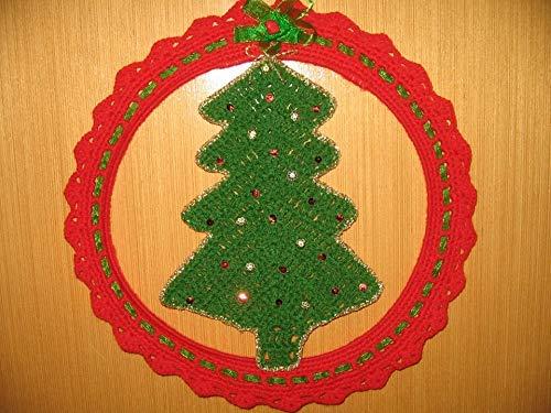 Fuori Porta Uncinetto Albero Natale