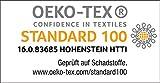 heimtexland ® Gardine Blickdicht Verdunklungsgardine mit Kräuselband und versteckten Schlaufen, Thermogardine, Verdunklungsvorhang,-lichtundurchlässig- HxB 245x135 cm TOP QUALITÄT Typ139 (hellblau) - 3