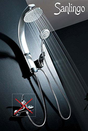 Designer Aluminium Duschpaneel Duschsäule von Sanlingo