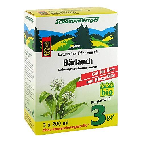 Bärlauch Saft Schoenenberger Heilpflanzensäfte