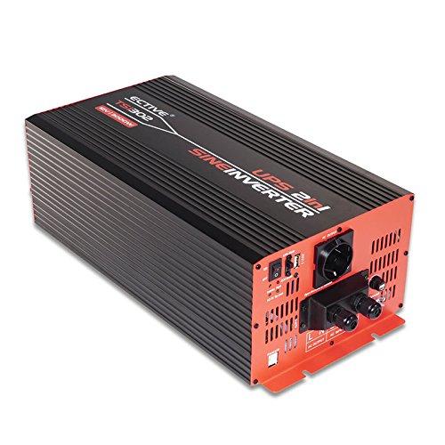 ECTIVE 3000W 12V zu 230V TSI-Serie Reiner Sinus Wechselrichter mit NVS 6 Varianten: 500W - 3000W