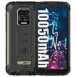 doogee s59 pro (2021) smartphone rugged, 10050mah batteria 4gb+128gb cellulari, 2w altoparlante 16mp fotocamera 5.71 telefono impermeabile con 4g dual sim, impronta digitale viso, nfc/gps verde