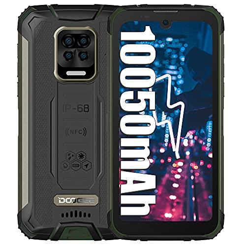 DOOGEE S59 Pro 4G Smartphone Resistente, batería de 10050 mAh, teléfonos móviles de 4 GB + 128 GB, Altavoz de 2 W, cámara de 16 MP Teléfono Resistente al Agua de 5,71 Pulgadas con Doble SIM NFC Verde