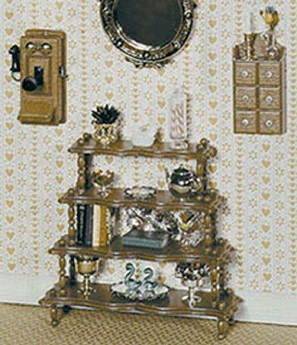 Dollhouse Miniature Chrysnbon What Not Stand Kit