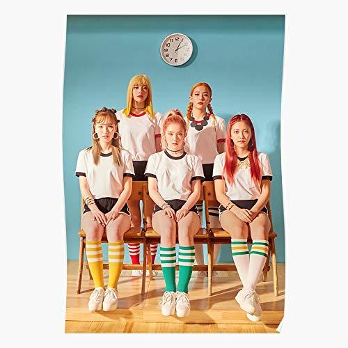 Red Irene Wendy Kang Velvet Seulgi Yeri Joy Son Print Modern Typographic Poster Girl Boss Office Decor Motivational Poster Dorm Room Wall