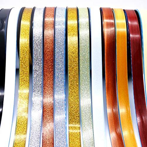buycheapDG(JP) セラミックタイル テープ すきま風防止 自己接着防水テープ セラミックタイル防かびギャップテープ 美容シームテープ ホームデコレーション 防水テープ 隙間テープ 補修テープ 6.2mm*6m(銀2)