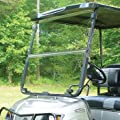 Buggies Unlimited Yamaha G14, G16, G19 Golf Cart Fold Down Windshield (1995-2002) JN3, JN4, JN6, JN8, JR1 (Clear)