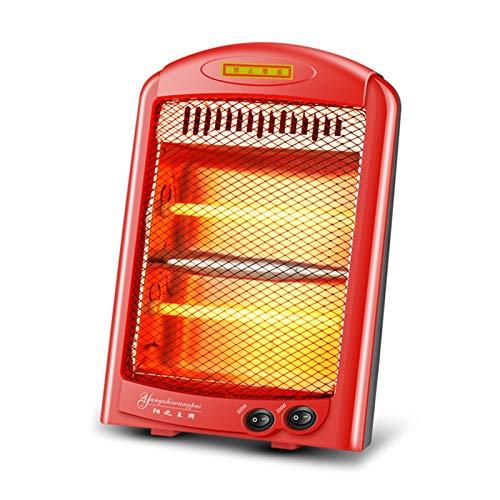CAPCRD Mini Calentador Calentador eléctrico Calentador pequeño Calentador de hogar Calentador eléctrico Mano eléctrica Una pequeña Estufa de calefacción Solar para calefacción doméstica