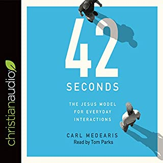 42 Seconds audiobook cover art