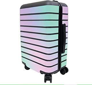 MightySkins Skin Compatible with Away The Carry-On Suitcase - Cotton Candy   Protective, Durable, and Unique Vinyl Decal w...