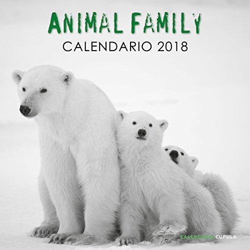 Calendario Animal Family 2018