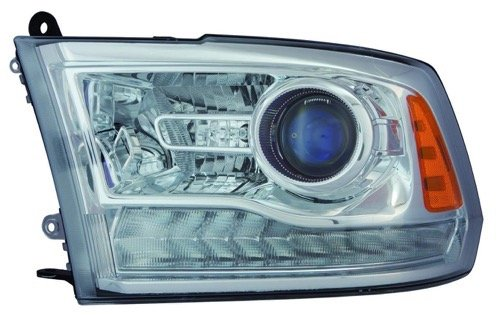 Go-Parts - for 2013 - 2015 Ram 2500 Front Headlight Assembly Housing / Lens / Cover - Left (Driver) Side 68093217AD CH2502244 Replacement 2014